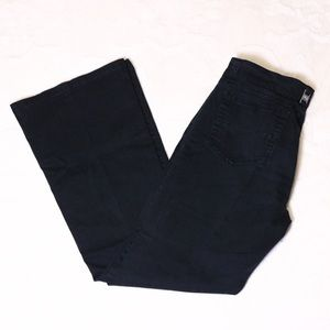 Black Junior Bootcut Pants